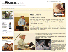 Tablet Preview of coreyross.org